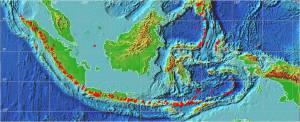 Zona Vulkanis Indonesia