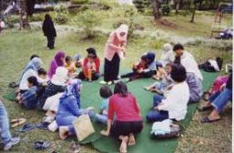 Interaksi antara Individu dengan kelompok