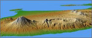 Peta 3D Bali
