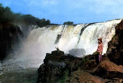 Guaira falls, Brasil
