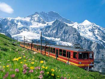 Pegunungan Alpen Swiss
