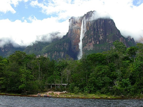 Angel Water Falls Venezuela