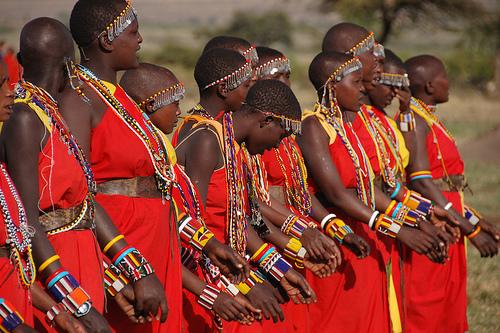 Salah satu bentuk budaya Afrika